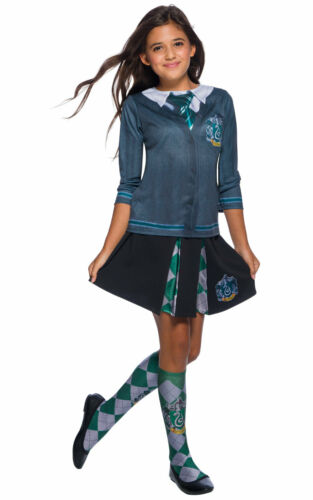 Girls Harry Potter Hogwarts House Uniform Book Day Fancy Dress Costume Outfit