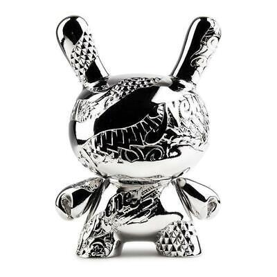 Kidrobot x Tristan Eaton Rose Gold New Money Metal Dunny Figure