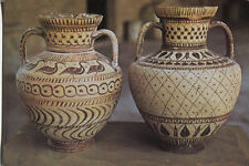 Alte Kunstpostkarte -  Archaische Amphore aus Rhodos