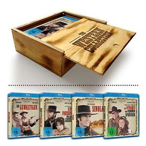 """Western Collection Holzbox Blu-Ray Coffret """"Bois"""" Import Exclusif Allemand VF IN"""