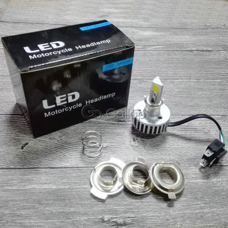 18W H4 LED Headlight Bulb Fits Yamaha V-Star XVS 650 1100 Classic Silverado