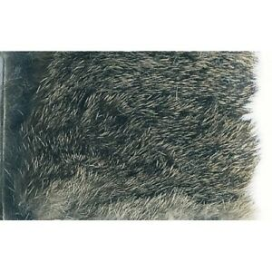 Rabbit Fur for fly tying natural Tanned White /& Tanned Black available