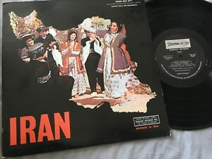 Persian Iran Hamid Hossein Folk Group Iranian Vocal Instrumental Rare Usa Lp Ebay