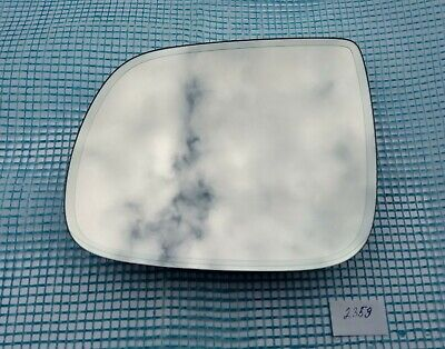 Audi Q3 Right Driver Side Wing Mirror Glass 2018-On 2nd Gen Grand Angle Chauffé