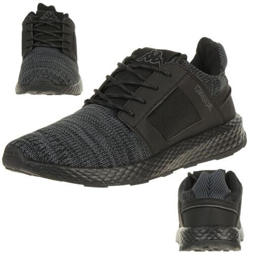 De Baskets Kappa 242683 Noir Chaussures Unisexe Feeny Tennis I166apx