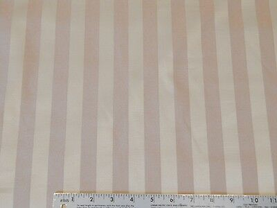 Discount Fabric Upholstery Drapery Brocade Satin Stripe Black DR20