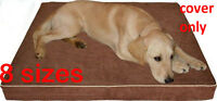 PETBED4LESS Durable Suede  Pet bed dog bed replacement zipper cover