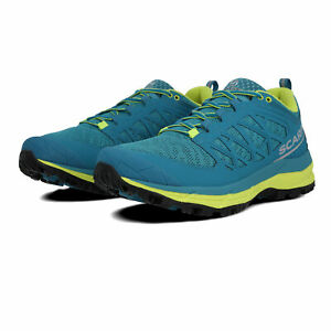 Scarpa Mens Neutron Trail Running Shoes Trainers Sneakers Blue Sports Breathable