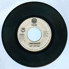 Philippines DEF LEPPARD Photograph 45 rpm Record