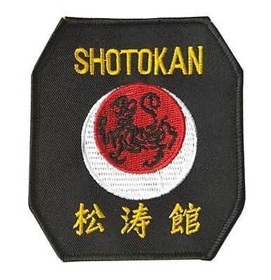 Karate Patch Badge zum Aufnähen NEU Ju-Sports Kyokushinkai-Aufnäher