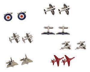 RAF Royal Air Force Cufflinks Fathers Day & Birthday Gift ...