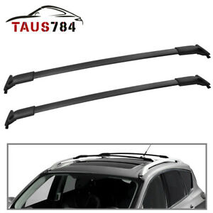 For 2013-19 Ford Escape Roof Rack Cross Bars Aluminum Luggage Cargo Bag Carrier