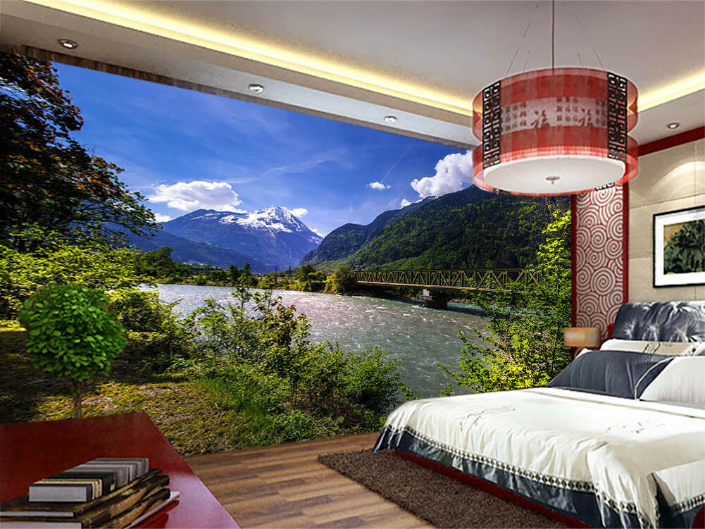 Beautiful Scenery 3D Full Wall Mural Photo Wallpaper Printing Home Kids Decor