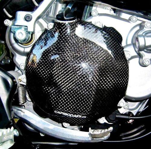 Husqvarna te250 te300 tpi 2t 2018 carbon embrague tapa clutsh cover Carbone