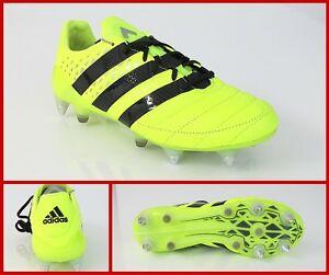 16 Aq4451 1 Leather Adidas Sg Calcio Col Fluo Scarpe Mod giallo ace ZIwHOAq