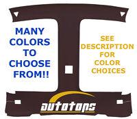 82-92 Camaro Or Firebird 't' Top Or Solid Roof, Abs Headliner Head Liner