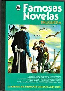 4e4c2d36a Detalles de FAMOSAS NOVELAS 2ª época nº: 6 (de 6 colección completa)  Bruguera, 3ª ed. 1986