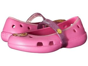 20bbc73b265cf1 Image is loading Crocs-Keeley-Disney-Princess-Flats-Aurora-Toddler-Little-