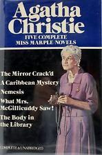 Five Complete Miss Marple Novels Agatha Christie Hardcover