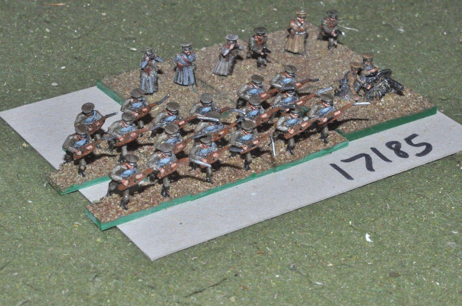 15mm WW1   russian russian russian - civil war infantry 26 figures - inf (17185) 674c4a