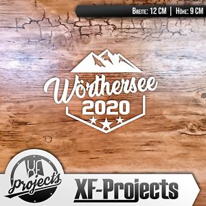 Woerthersee-Tour-Sticker-2020-Emblem-WEiss-Autoaufkleber-Car-Tuning-Aufkleber-SEE