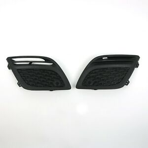 Volvo-OEM-Left-Right-Lower-Front-Bumper-Grilles-w-PAS-31290661-2-for-XC60-10-13