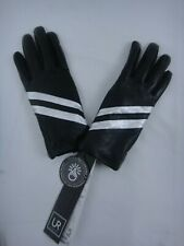 UR Powered LEATHER TECH GLOVES BLACK WOMENS TOUCH COMPATIBLE SIZE S//M NWT