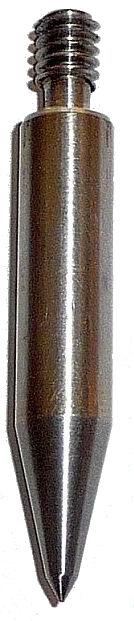 "Replacement Stainless Steel Prism MINI Pole Point - 1/4"", 51mm, SURVEY"