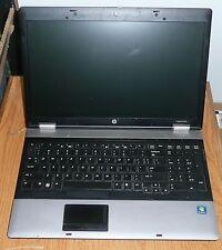 HP Probook 6555b AMD 2.5GHz Dual Core Laptop Computer 320GB HD 6GB RAM WIN 7