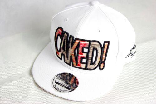 Caked snapback caps baseball mens /& ladies dollar flat peak hip hop hats