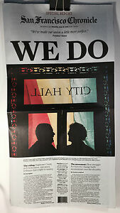 WE-DO-S-F-CHRONICLE-NEWSPAPER-JUNE-27-2015-SUPREME-COURT-GAY-MARRIAGE-BAN-LIFTED