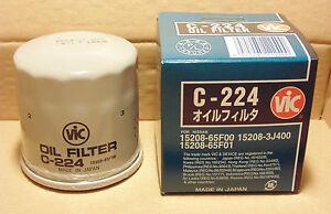 VIC-C-224-Oil-Filter-for-NISSAN-200SX-Silvia-350Z-Pulsar-S15-S14-Z34-Murano-T31
