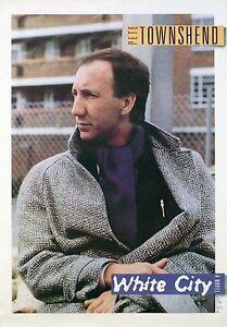 Pete-Townshend-1985-White-City-Original-Promo-Poster-The-Who