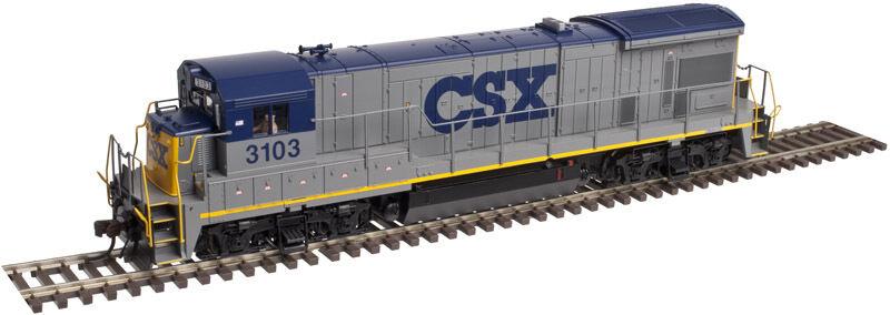 CSX ferroCocheril HO-B23-7 Diesel Con Sonido & DCC por Atlas oro-Envío Gratuito en EE. UU.