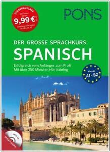 NEU-PONS-Der-grosse-Sprachkurs-SPANISCH-lernen-fuer-Anfaenger-amp-Wiedereinsteiger