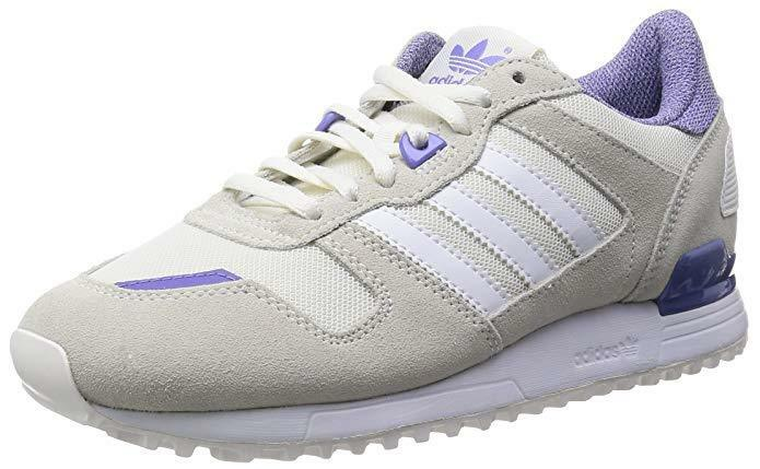 ADIDAS Originals Damenschuhe ZX 700 UK Trainers Weiß/Weiß/Purple UK 700 8.5 M19413 f51f90