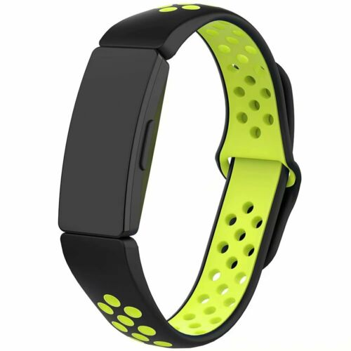 Air-Hole Silicone Strap Replacement Wristband For Fitbit Inspire/& Hr /&Ace 2 Band