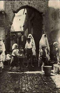 Alger-Algier-Algerien-al-Dschaz-ir-1920-30-Casbah-rue-N-Fissa-Kinder-Children