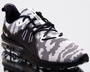 Nike Air Max Sequent 3 Premium Camo Men New Running Shoes Black ... 69e3df867