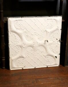 Details about Antique Tin Ceiling Tile Wall Collage White Vintage Bedroom  Kitchen Victorian