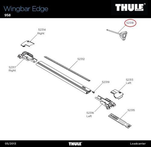 958 Drehmomentschlüssel für Wingbar Edge FOOT Railing Lh