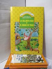 LA GALLINITA ROJA Y EL GRANO DE TRIGO Spanish CHILDREN Literature Libros Espanol