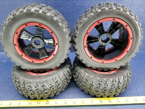 LOS45004 2 gauche 2 droite DBXL Pneu monté sur roue-Desert Buggy XL * Nouveau