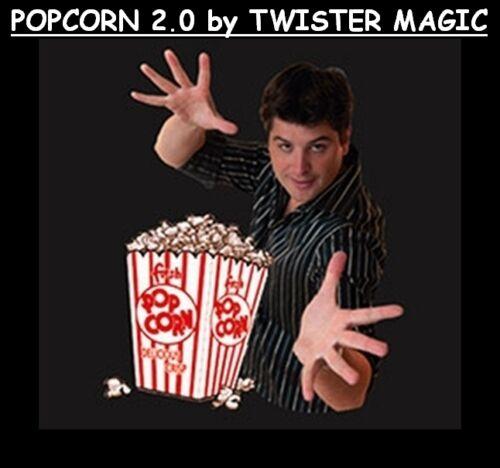 MAGIC POPCORN MACHINE 2.0 GEORGE IGLESIAS TWISTER POPPING SOUND BATTERIES TRICK
