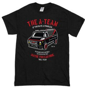 The-A-Team-Van-Men-039-s-Funny-T-Shirts-80-039-s-TV-Programme-T-Shirt-Show-Mr-T