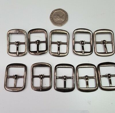 B11 10 Gun Metal Finish Buckles Fits 17mm Straps Cobblers Repairs Shoes Hardware