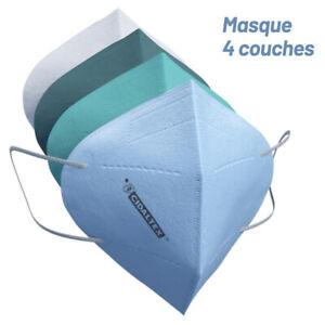 Masque à l'UNITE - FFP2 médical, filtrante et décontaminant, made in FRANCE !