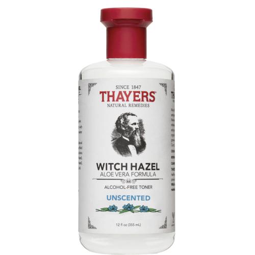 Thayers Alcohol Free Original Unscented Witch Hazel Toner (12oz/355ml) NEW