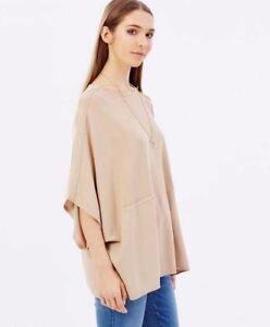 Beige Jumper Fine Poncho Millen To Knit Gauge Pullover Top 14 Karen 8 Sweater CxW5nfW