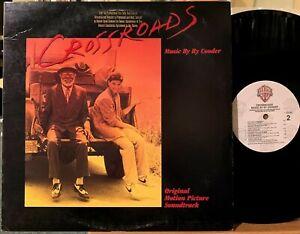 Ry Cooder Crossroads Soundtrack Promo Vinyl LP Warner Bros 1-25399 Steve Vai